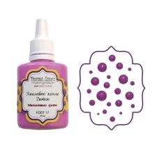 Liquid enamel dots Fabrika decoru, color Raspberry Jam