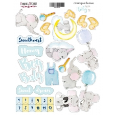 "Kit of stickers #014, ""My Little Baby Boy"""