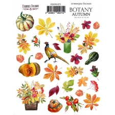"Kit of stickers #071, ""Botany Autumn Redesign"""