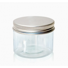 Transparent pot with a tin lid 30 ml