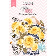 """Väljalõiked """"Yellow rose"""", 57 tk"""