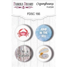 Flair buttons. Set of 4pcs #166