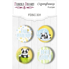 Flair buttons.  Set of 4pcs #331