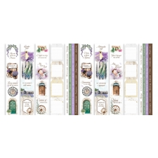 "Set of stripes with pictures for decoration ""Journey to Provence"""