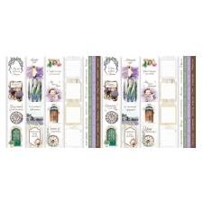 """Набор полос с картинками для декорирования """"Journey to Provence"""""""