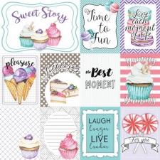 """Dekoratiivsed kaardid """"Candy Shop"""""""