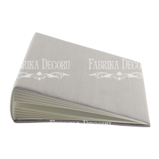 "Blank album with a soft fabric cover ""Gray"""
