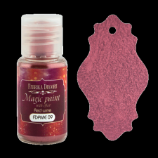"Dry paint ""Magic paint with effect"" color ""Red wine"", 15ml"