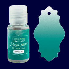 "Dry paint ""Magic paint"" color ""Aquamarine"", 15ml"