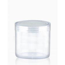 Transparent pot with a lid 20 ml