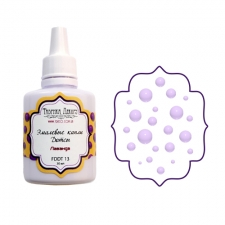 Liquid enamel dots Fabrika decoru, color  Lavender