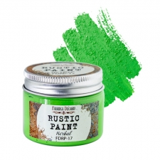 Rustic paint. Color Herbal