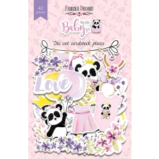 "Set of die cuts ""My little baby girl"", 42 pcs"