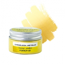 Metallic chameleon paint. Color Sunny amber