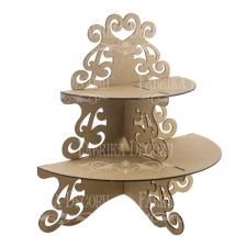 "Cupcake stand ""Semicircle"" #089"