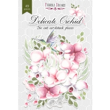"""Набор высечек, коллекция """"Delicate Orchid"""",49 шт"""
