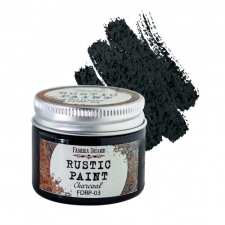 Rustic paint. Color Charcoal