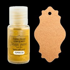 "Dry paint ""Magic paint with effect"" color ""Sepia with gold"", 15ml"