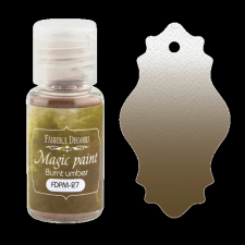 "Dry paint ""Magic paint"" color ""Burnt umber"", 15ml"