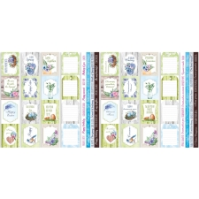 "Set of stripes with pictures for decoration ""Colorful Spring"""