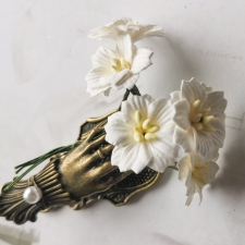 Apple Blossoms 25mm - 5pcs