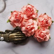 Cottage Roses 30mm - 5pcs