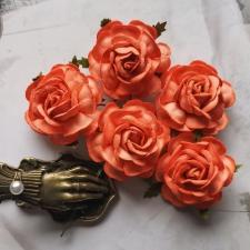 Tea Roses 40mm - 5pcs