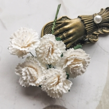Carnations 25mm - 5pcs