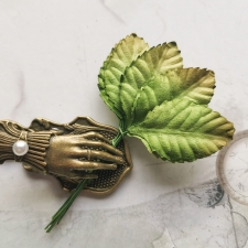 Leaves 45 mm - 10pcs
