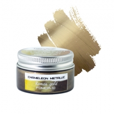 Metallic chameleon paint. Color Roman gold