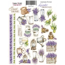 "Kit of stickers #057, ""Lavender Provence-1"""
