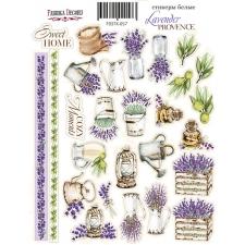 "Набор наклеек (стикеров) #057, ""Lavender Provence-1"""