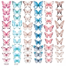 "Decorative sheet for cutting ""Butterflies 2"""