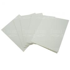 Hабор из 5 заготовок для создания открыток 12х15см Белый