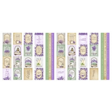 "Set of stripes with pictures for decoration ""Lavender Provence"""
