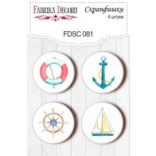 Flair buttons. Set of 4pcs #081