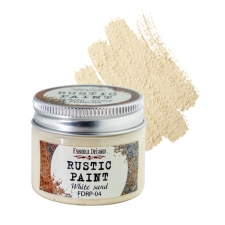 Rustic paint. Color White sand