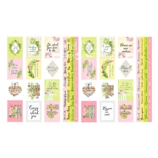 "Set of stripes with pictures for decoration  ""Spring blossom"""