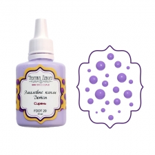 Liquid enamel dots Fabrika Decoru, color Lilac