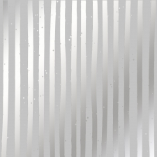 "Лист с фольгированием ""Silver Stripes Gray"""