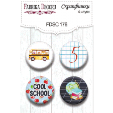 Flair buttons. Set of 4pcs #176