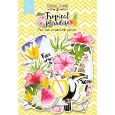 "Set of die cuts ""Tropical paradise "",54 pcs"