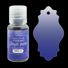 "Dry paint ""Magic paint"" color ""Cobalt blue"", 15ml"