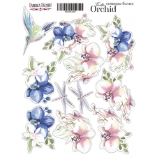 "Kit of stickers #009, ""Tender orchid-2"""