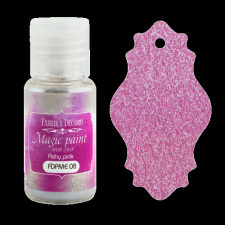 "Dry paint ""Magic paint with effect"" color ""Ashy pink"", 15ml"