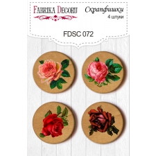 Flair buttons. Set of 4pcs #072