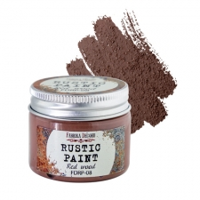Rustic paint. Color Red wood