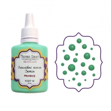 Liquid enamel dots Fabrika decoru, color Emerald
