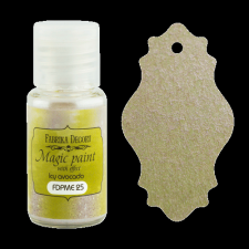 "Dry paint ""Magic paint with effect"" color ""Ice avocado"", 15ml"