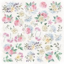 "Sheet of images for cutting. Collection ""Shabby garden"""